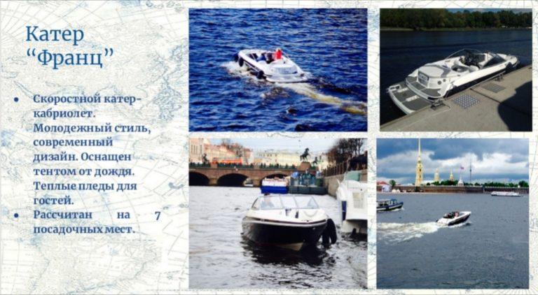 Аренда катера в СПб