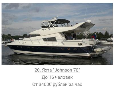 Яхта в аренду в Спб