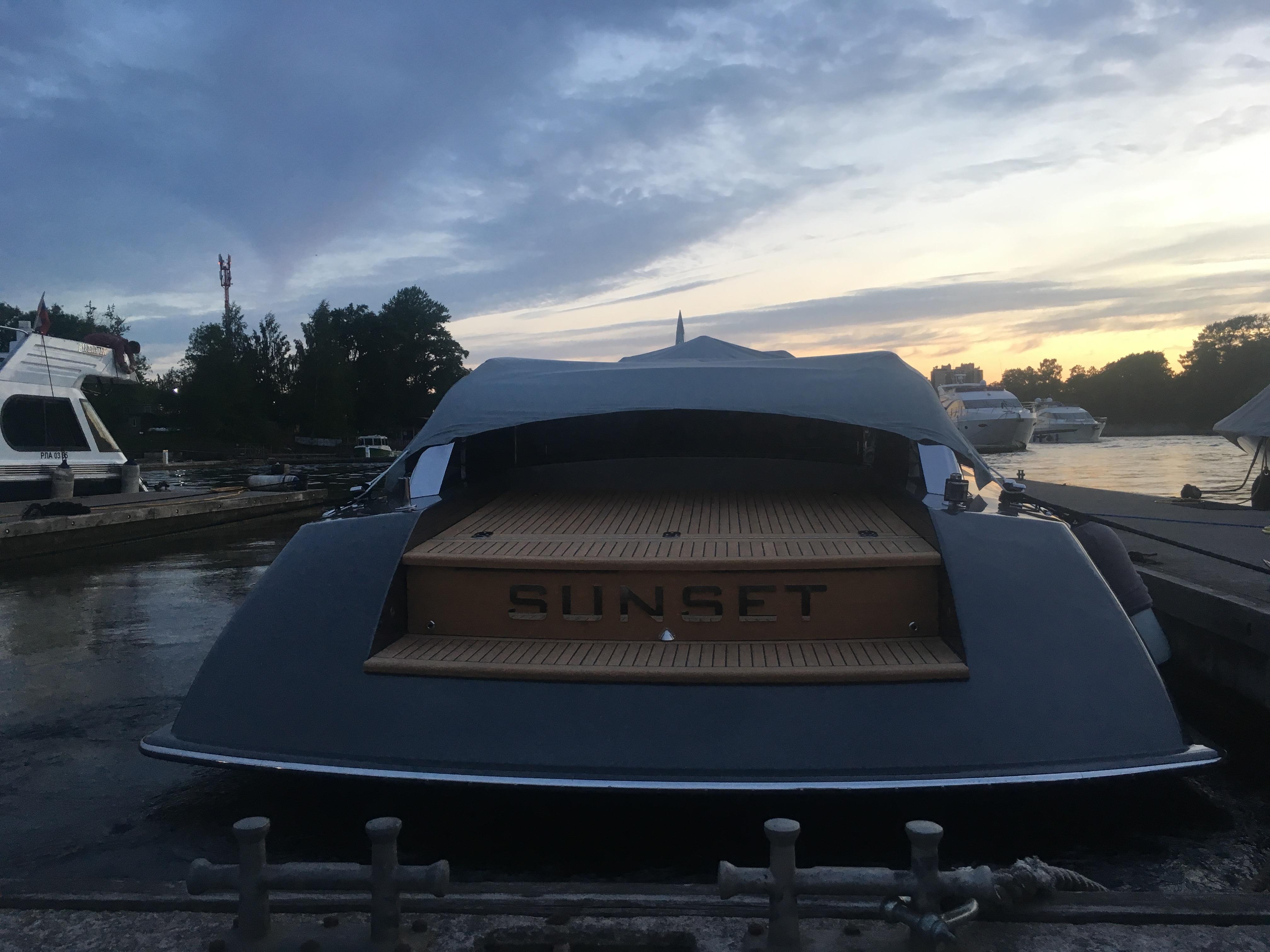 Катер Sunset